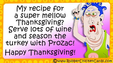 My Recipe For A Super Mellow Thanksgiving Serve Lots Of