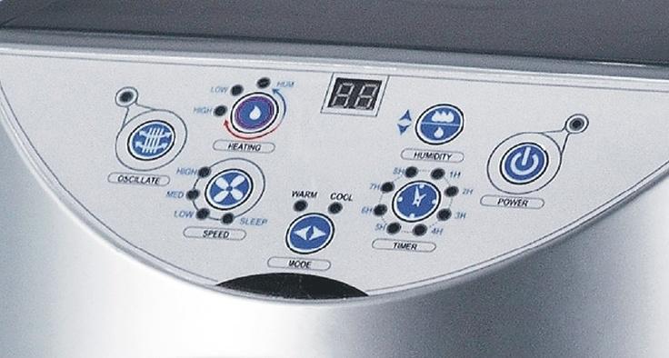 Air Cooler Control Panel
