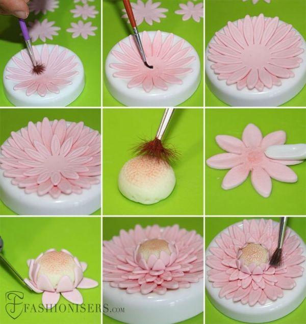 gumpaste flower tutorial by yvonne