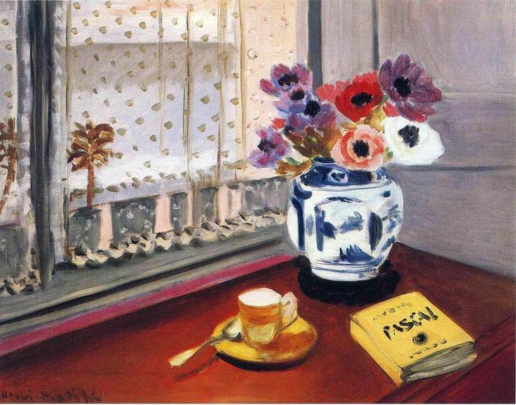 Henri Matisse (French, 1869-1954). Still Life with Pascal's Pensees, 1924