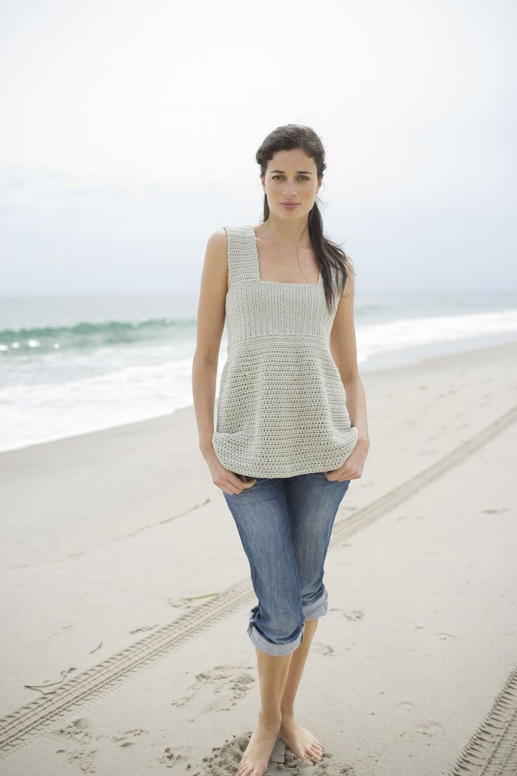 crocheted summer top...instructions!