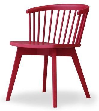 A moders take on a classic spindle back chair. Looks great and super comfortable - great value too. The sunny chair
