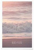 Beach Please - Monika Strigel - Premium Poster