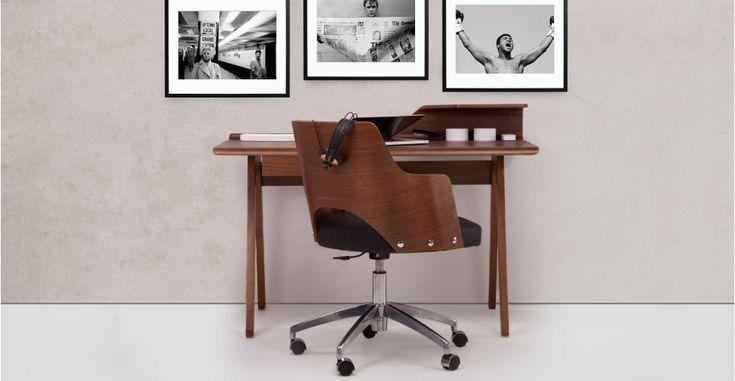 Cornell Walnut Desk | made.com