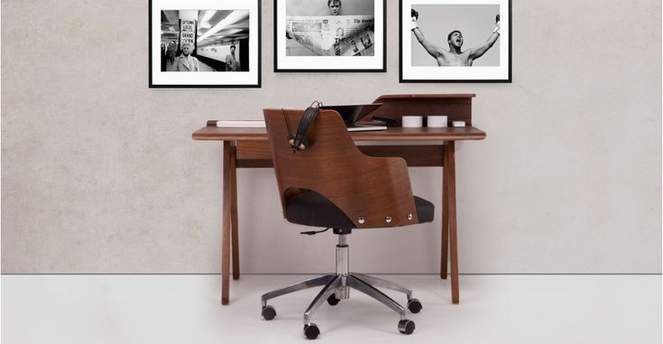 Cornell Walnut Desk | made.com