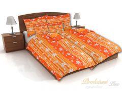 Povlak na polštář Listy oranžové 45x60 – hladké