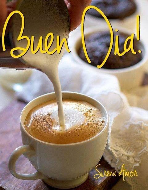 Buenos Días imagen #10147 - ¡Buen Día! Tags: Cafe, Desayuno, Manana. Imágenes y fotos de 'Buenos Días' con frases para facebook, whatsapp y twitter.