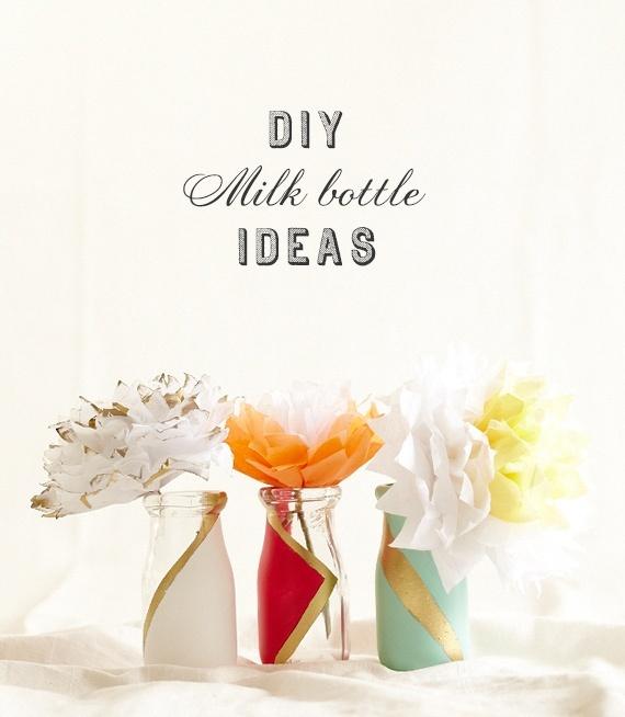 Milk bottle wedding ideas | 100 Layer Cake