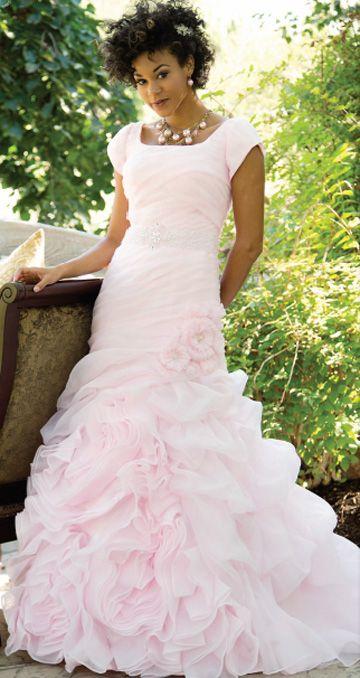 Best 25+ Light pink wedding dress ideas on Pinterest | Ethereal ...
