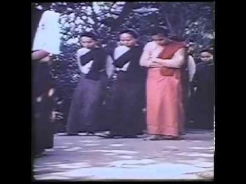Rare video of Mahasi Sayadaw (Mahasi Vipassana Tradition)