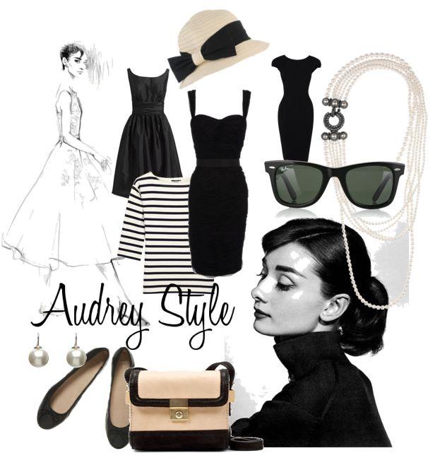 Audrey Hepburn Clic Vintage Style Clothing Shabby Pinterest And