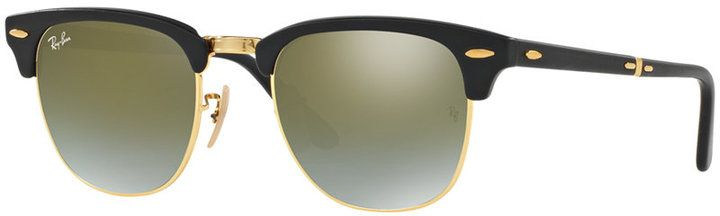 Ray-Ban Clubmaster Folding Sunglasses, RB2176 51