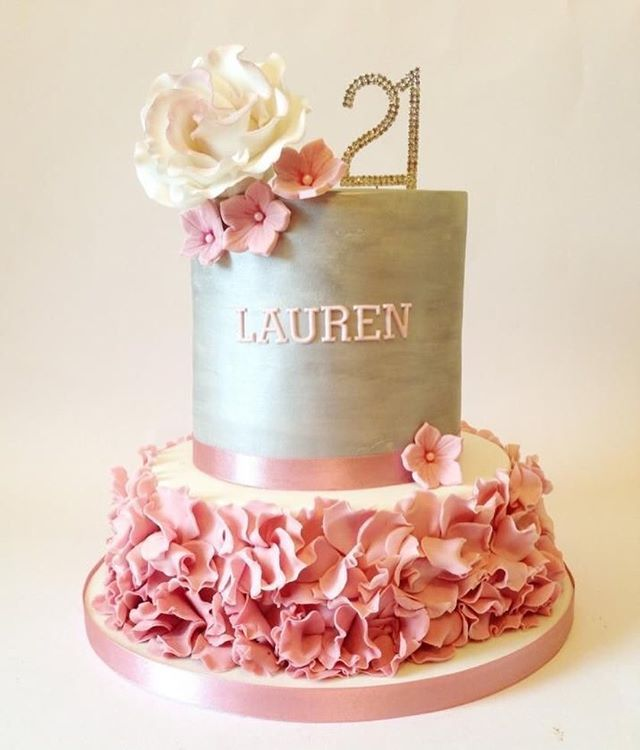 129 best 21th Birthday cakes and cupcakes images on Pinterest