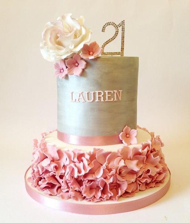Que lindo bolo para festa delicada. Amo este estilo. #Ideiasdebolosefestas #ideiasdebolos #ideias #inlove #inspiracao #festaadulto #aniversarioadulto pic via Pinterest