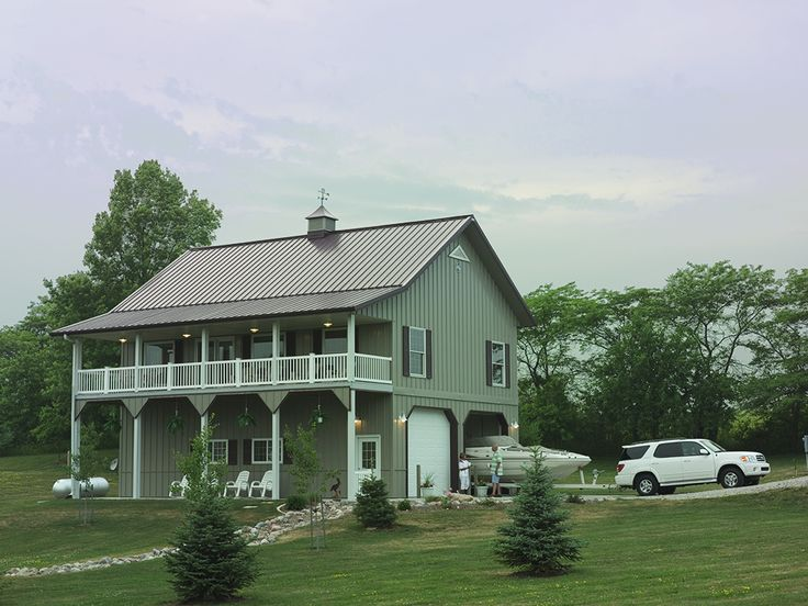 Morton buildings home in clive iowa homes pinterest for Metal buildings into homes