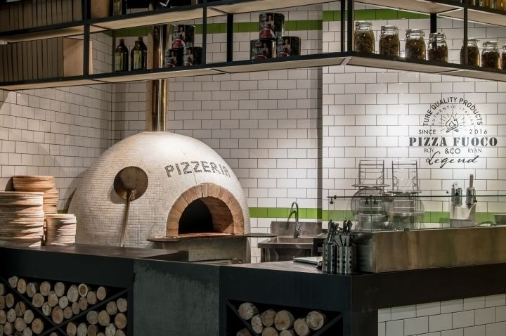 FUOCO PIZZA by a+a workshop design, Beijing – China » Retail Design Blog