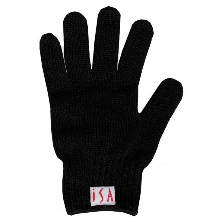ISA Professional Heat resistant curling glove for hair curler flat iron hair straightener