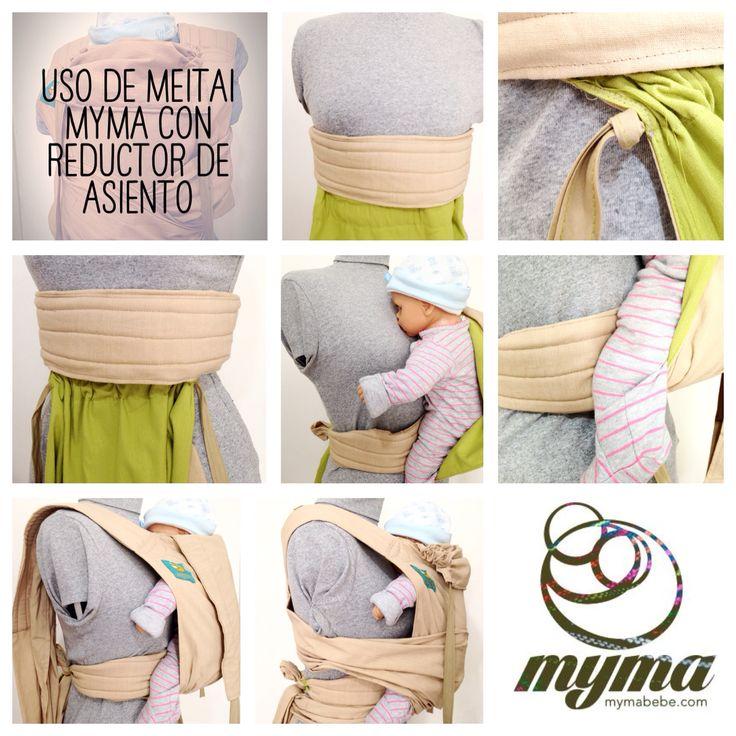 Cómo usar un meitai Myma con un reductor de asientonpara bebé menores de 6 meses