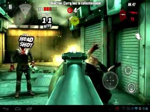 Dead Trigger HP Touchpad (Android CM9 ICS) Sixaxis App now with Tegra 3 ...