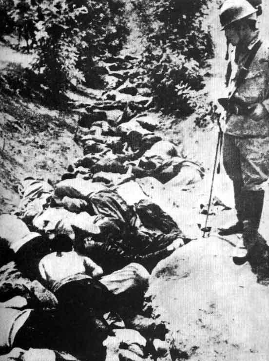 List of war crimes