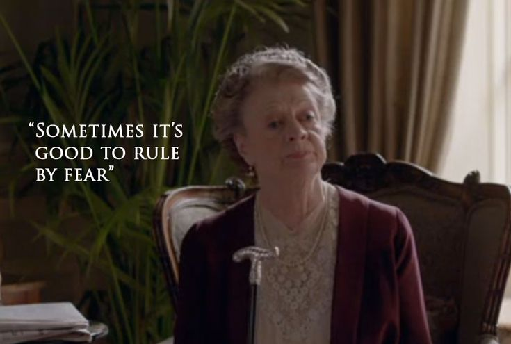 The Dowager Countess of Grantham (Downton Abbey Season 6)