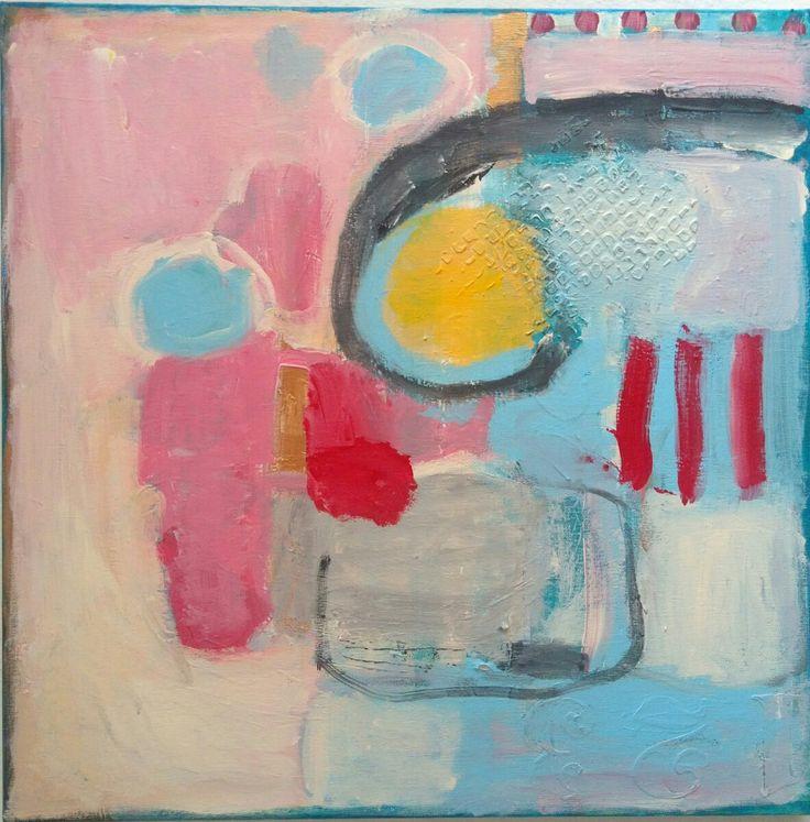 #kobus malgorzata#abstract#painting#acrylic#a plan