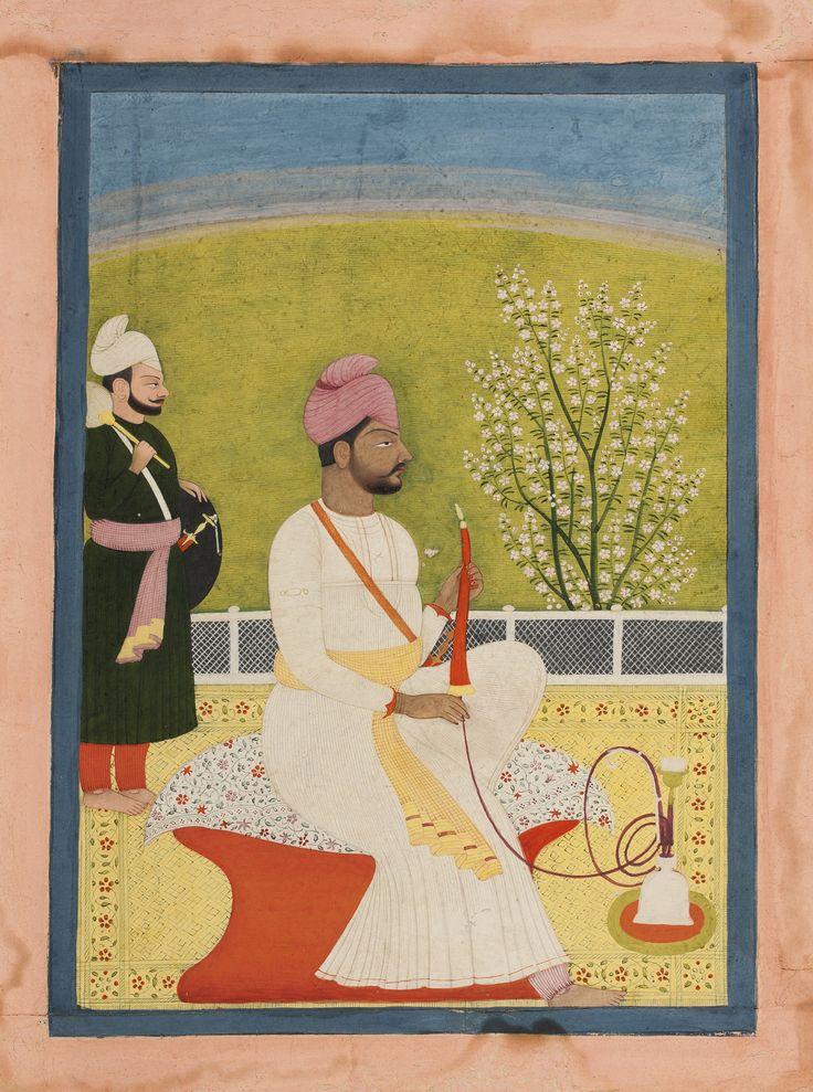 maharaja bhup singh of guler ||| miniature ||| sotheby's n09118lot7b3t8en