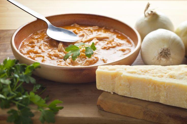 Držková polievka z hlivy ustricovej