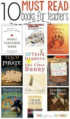 10 Must Read Books for Teachers