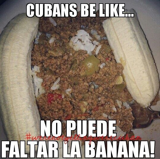 Cubans Be Like...