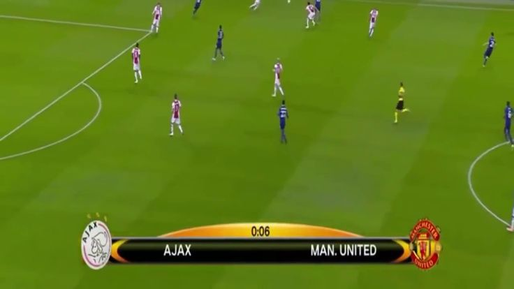 Manchester United vs Ajax Amsterdam 2-0 All Goals & Highlights 24-05-201...