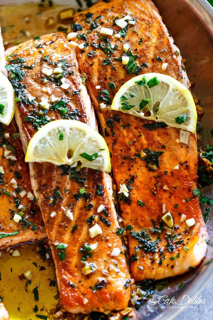 Lemon Garlic Herb Salmon Is A Deliciously Easy Salmon