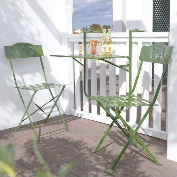 Dieser Artikel Ist Nur Online Erhaltlich Der Sommer Kann Kommen Und Mit Diesem Schicken Balkonset In Grun Sieht Ihr Balkon Ganz Stylisc Balkon Grun Tischset