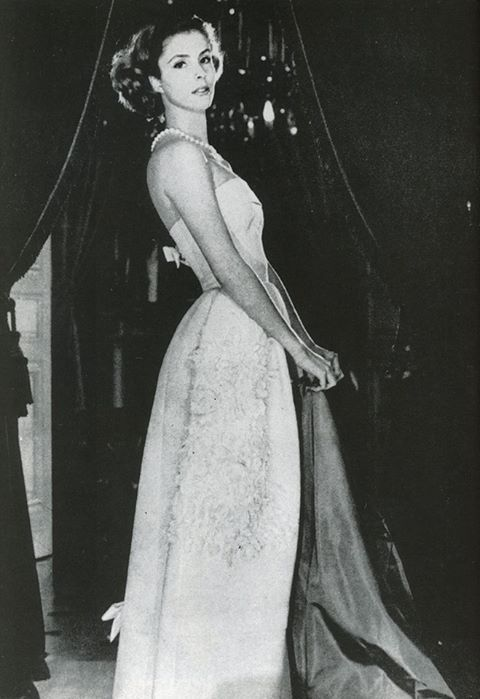 Socialite and fashion icon Gloria Guinness, Paris,1957