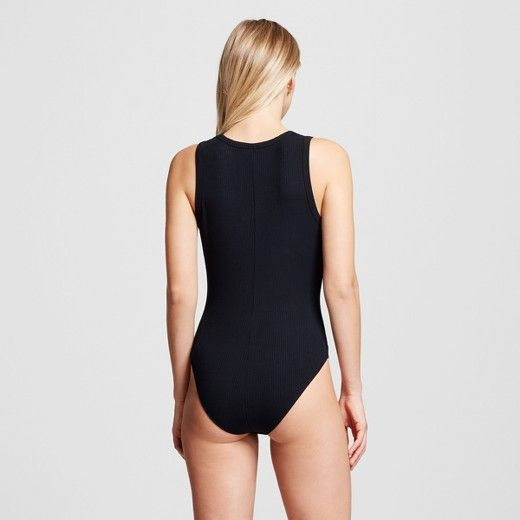 The style secret is out: The Sleeveless Rib Bodysuit - Who What Wear™ is a must for any outfit, giving you a sleek foundation for laid-back looks with denim or edgier takes paired with a leather skirt and heels.
