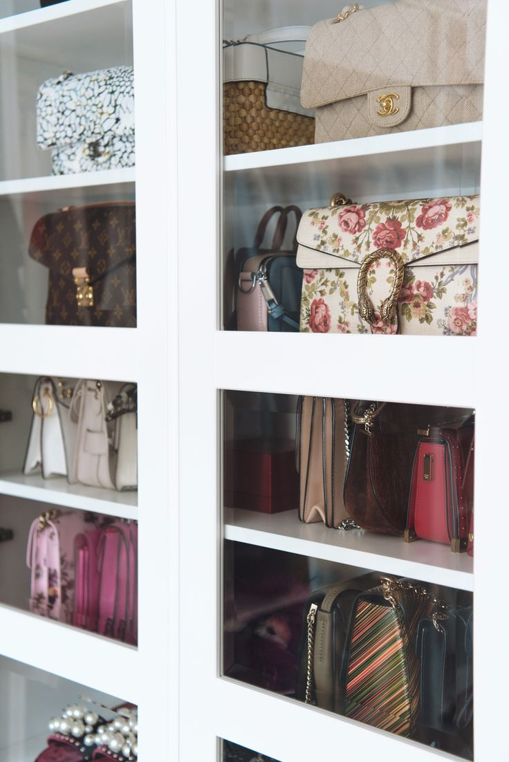 Fresh Shoe and bag closet walk in closet designer bags More on fashiioncarpet
