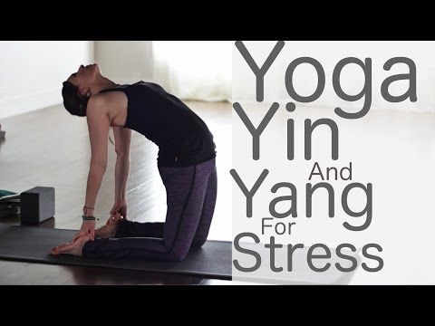 Yoga For Stress Relief: Yin and Yang with Lesley Fightmaster - YouTube