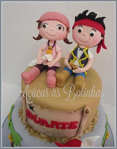 Cake Design Jake E Os Piratas : 12 best images about Ideias para Bolos - Jake e os Piratas ...