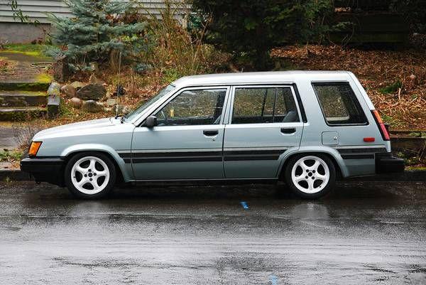 1986 Toyota Tercel wagon