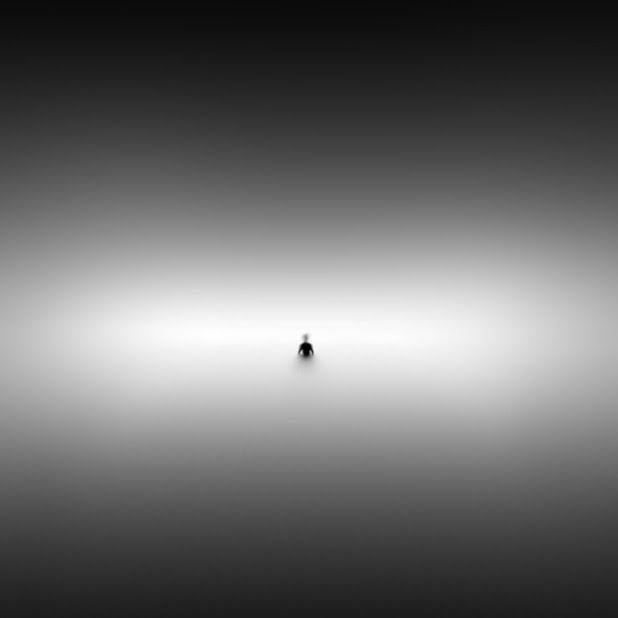 Unbedeutende surreale Schwarzweiss-Fotografie durch Ioannis Nikiforakis