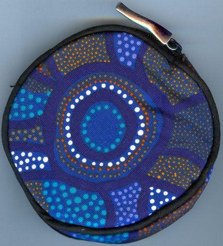 Aboriginal design Coin Purse various designs $9.00 SPECIAL 2 for $16.00