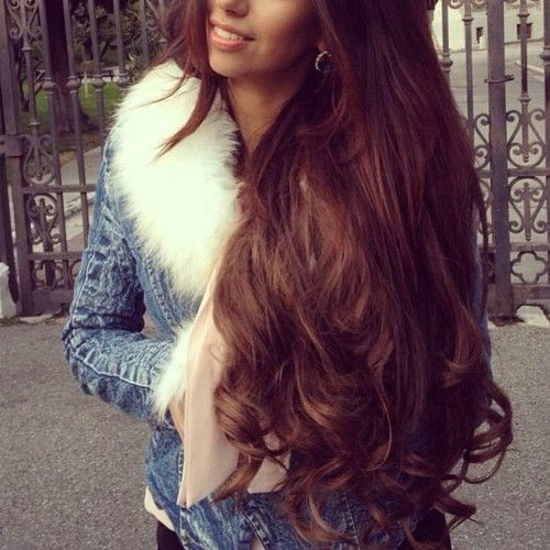 .Beautiful long hair