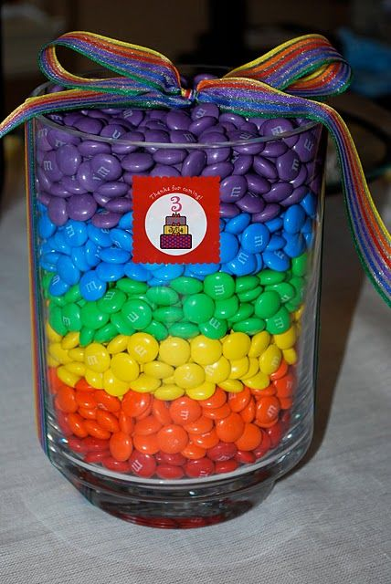 Coisas que eu amo...: Inspiração - Festa infantil do arco-íris