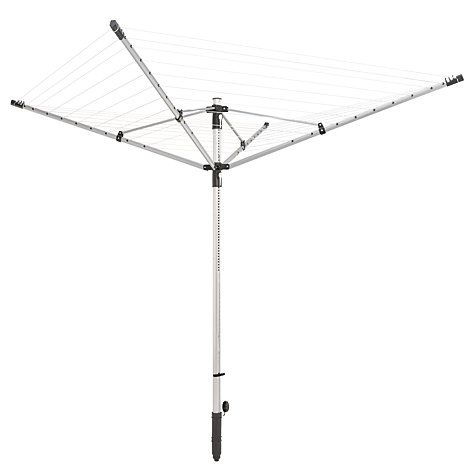 Buy Leifheit LinoLift 500 Outdoor Rotary Clothes Airer Washing Line Online at johnlewis.com