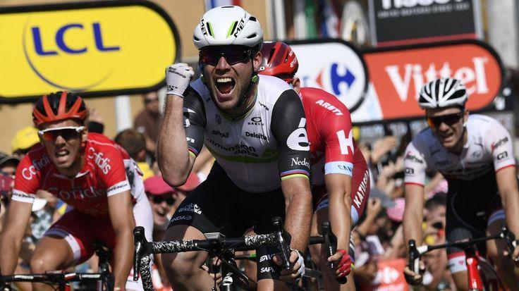TOUR DE FRANCE 2016 – Le Britannique Mark Cavendish (Dimension Data) s'est imposé au sprint à Montauban lors de la 6e étape, signant son troisième succès de l'édition 2016. Le Belge Greg van Avermaet (BMC Racing) conserve la tête du classement général. Mark...