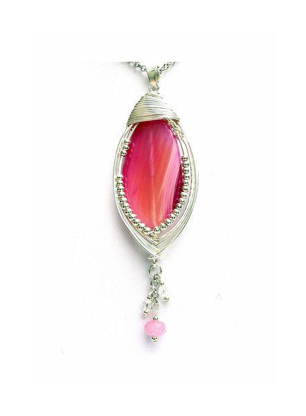 """bySHINE """"JUICE"""" MAGICZNY WISIOR wire wrapping  w  Biżuteria ze Szczyptą  Magii * by SHINE na DaWanda.com"""