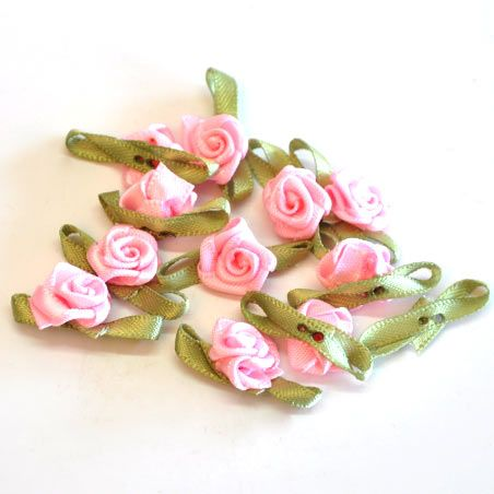 10mm Satin Roses for R60/200 flowers, we have various colour options   Paradise Creative Crafts cc