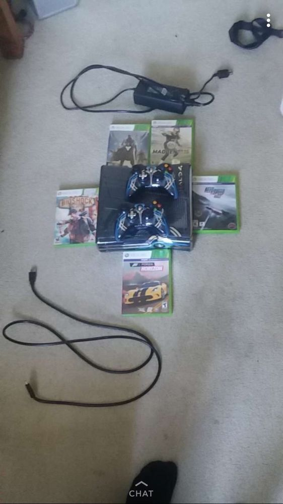 halo xbox 360 plus 5 games and 2 control | eGaming Forums