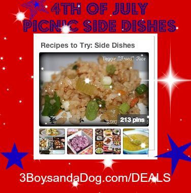 deals side dishes