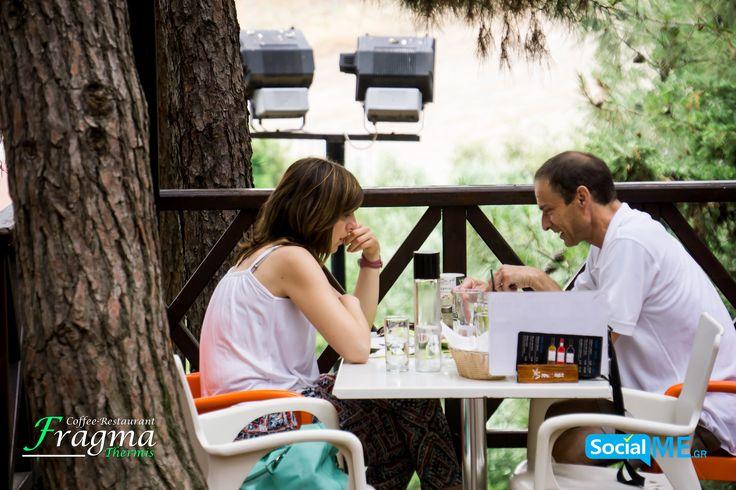 Δυό δυό ή και περισσότεροι,για φαγητό ή καφέ/ποτό  #FragmaThermis #Thermi #Thessaloniki #Coffee #Restaurant